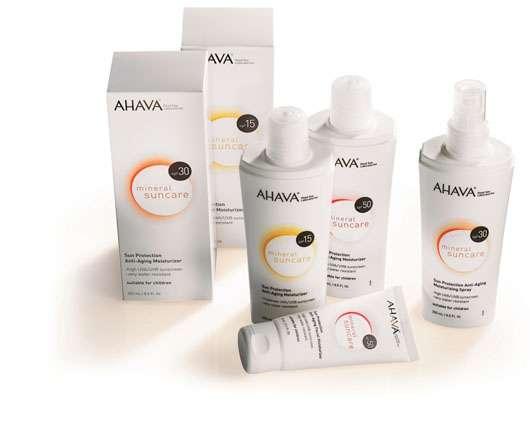 AHAVA Mineral Suncare, Quelle: AHAVA