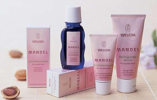 Weleda Mandel-Gesichtspflege im Test