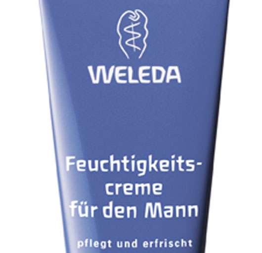 Feuchtigkeitscreme für den Mann von WELEDA