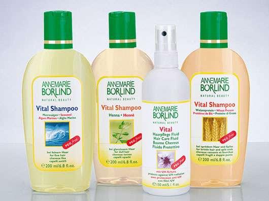ANNEMARIE BÖRLIND Natur-Haarpflegeserie