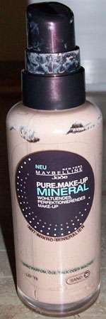 Maybelline Pure Make-up Mineral flüssig