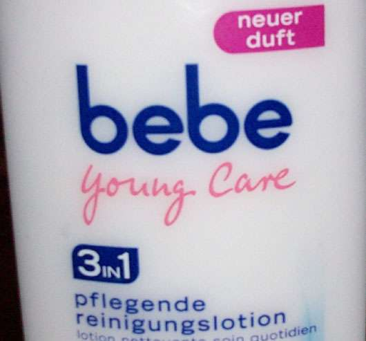 Bebe pflegende Reinigungslotion 3in1