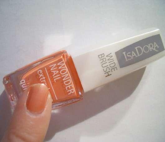 ISADORA WIDE BRUSH Wonder Nail extra long lasting