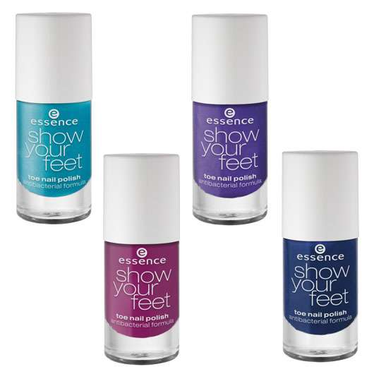 """essence trend edition """"show your feet glam up!"""""""