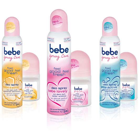 feel good feel fresh Deos von bebe Young Care