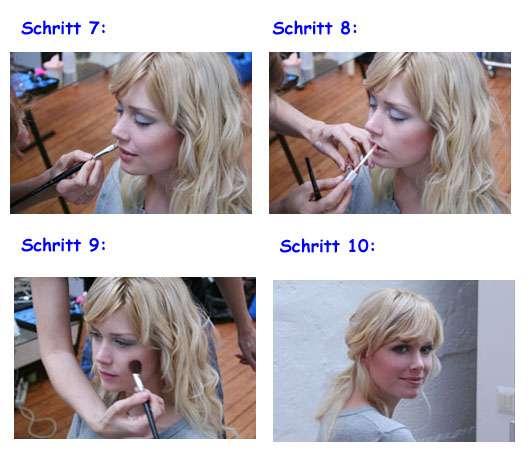Schritte 7 bis 10, Quelle: SANS SOUCIS / FRIBAD Cosmetics Group GmbH