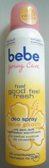 bebe Young Care feel good feel fresh Deo Spray