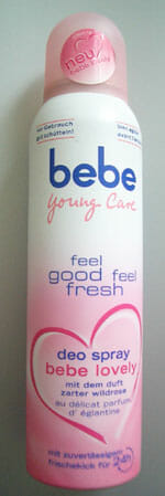 bebe young care deo spray