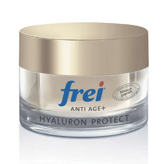 frei® AntiAge+ Hyaluron Protect Tagespflege mit LSF 15