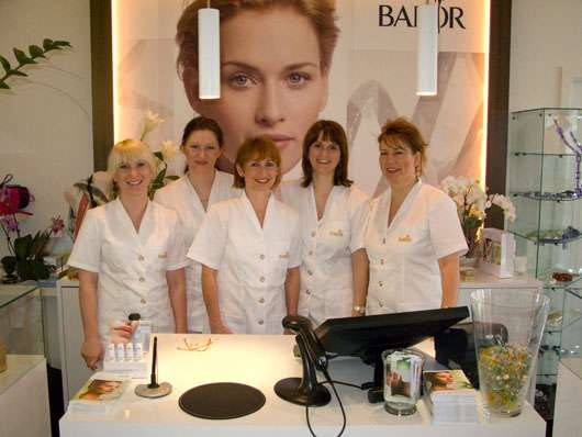 Das Team des BABOR BEAUTY SPA in Backnang, Quelle: Dr. Babor GmbH & Co. KG