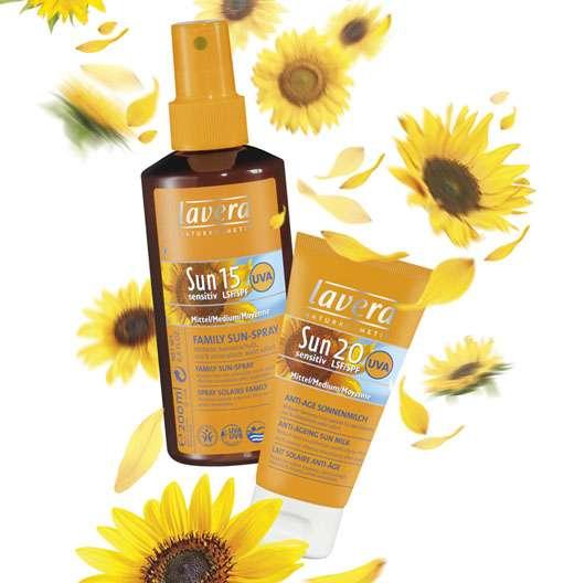 Sonnenschutzserie Sun sensitiv von lavera