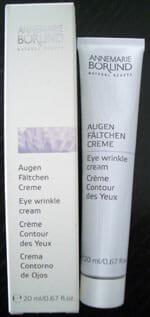 Annemarie Börlind Natural Beauty Augenfältchen Creme