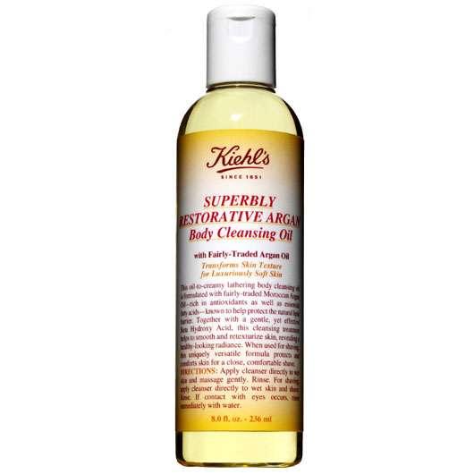 KIEHL'S Superbly Restorative Argan Body Cleansing Oil