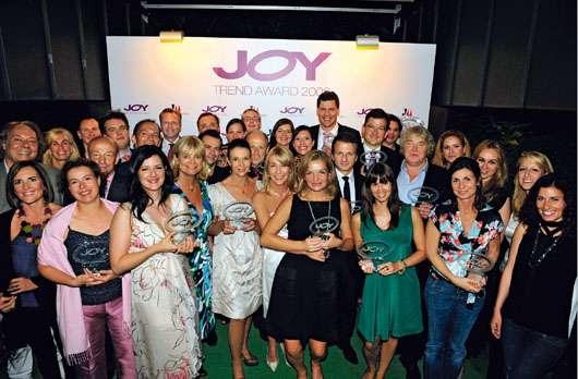 Siegerfoto vom JOY TREND AWARD 2009, Quelle: beautypress