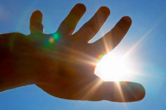 Sie ist warm, sie ist hell und sie macht glücklich! Sonne ist für alle da!