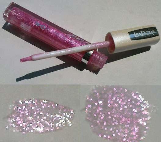 Isadora 3D Glitter Gloss 70 Sparkling Pink