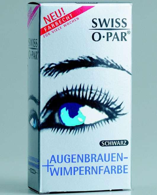 Augenbrauen- und Wimpernfarbe von SWISS•O•PAR®