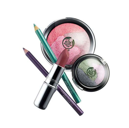PEARLESCENTS MAKE-UP COLLECTION von The Body Shop