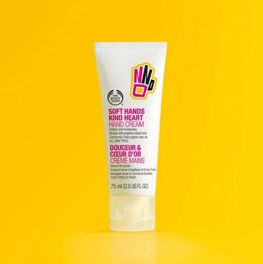 """Soft Hands, Kind Herat"", Quelle: The Body Shop International PLC"