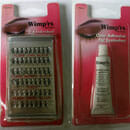 Wimp'rs by Fing'rs 54 Individual Eyelashes & Clear Adhesive for Eyelashes