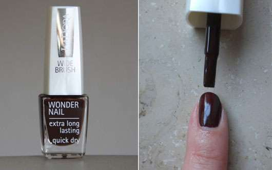 IsaDora Wonder Nail Wide Brush, Farbe: Bohemian Brown (647)
