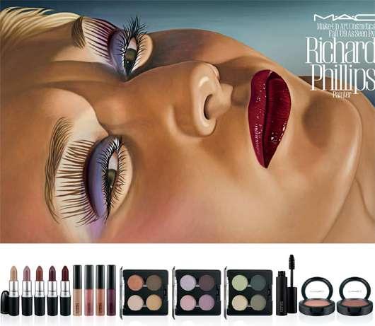 M·A·C Make-up Art Cosmetics Fall '09 as seen by Richard Phillips (Painter), Quelle: Estée Lauder Companies GmbH / M·A·C Division