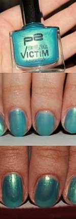 p2 Color Victim Nailpolish, Farbe: 250 so cool!
