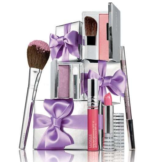 CLINIQUE's Black Tie Violet Winter Trend 2009, Quelle: Clinique Division / Estée Lauder Companies GmbH