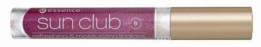 essence sun club refreshing & moisturizing lipgloss with SPF 6 (#07), Quelle: cosnova GmbH