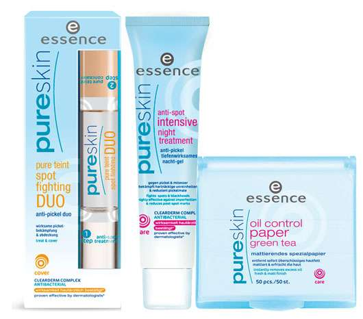 essence pure skin Produktneuheiten 2009, Quelle: cosnova GmbH