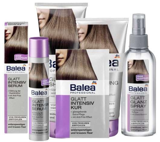 Balea Professional - Glatt für widerspenstiges und krauses Haar, Quelle: Balea