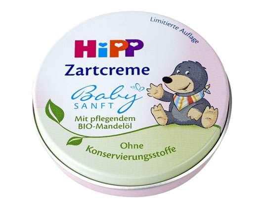 "HiPP macht Zartcreme in der Mini-Dose zum ""absoluten Muß"""