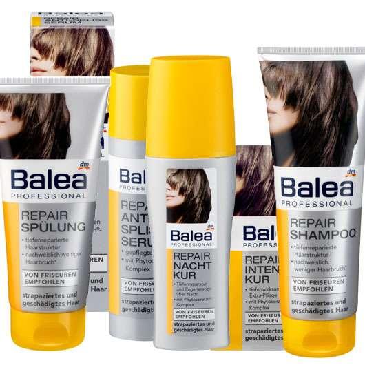 Balea Professional - Repair für strapaziertes und geschädigtes Haar, Quelle: Balea