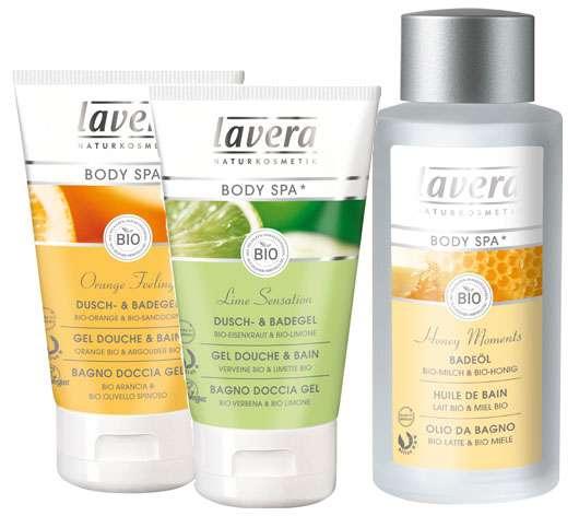 lavera Body SPA* Reinigung, Quelle: laverana GmbH & Co KG