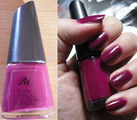 "Manhattan ""Lotus Effect Nailpolish"" Longlasting, Farbe: Purple"
