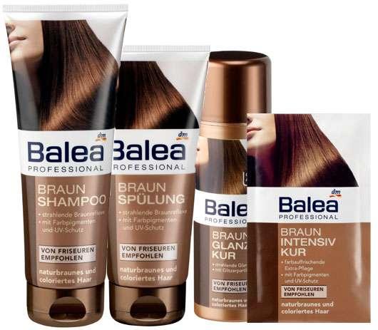 Balea Professional - Braun für naturbraunes und coloriertes Haar, Quelle: Balea