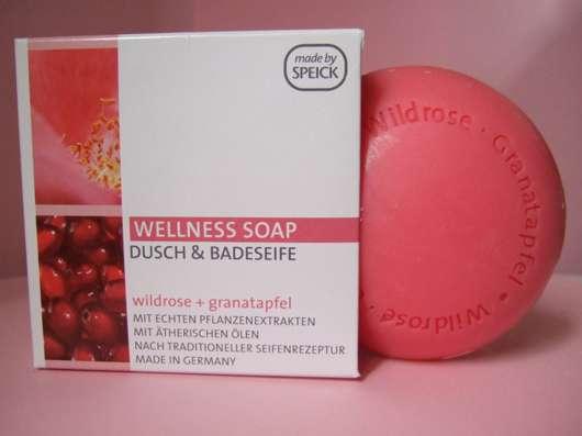 Speick Wellness Soap Dusch- und Badeseife (Wildrose + Granatapfel)