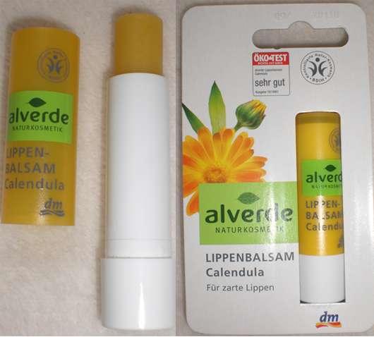 alverde Lippen-Balsam Calendula