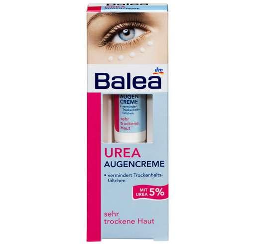 Balea Urea Augencreme, Quelle: Balea