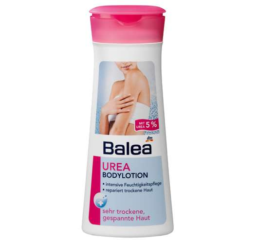 Balea Urea Bodylotion, Quelle: Balea