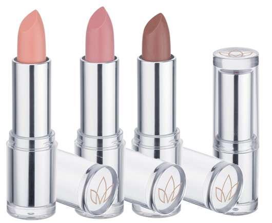 Catrice Nude Sensation Lipstick (v.l.n.r.: #01 Soft Coral, #02 Soft Rosé, #03 Nude Brown), Quelle: cosnova GmbH