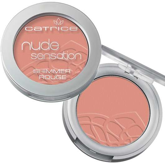Catrice Nude Sensation Shimmer Rouge (#01 Coral Pink), Quelle: cosnova GmbH