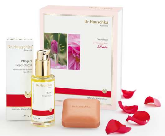 """Dr.Hauschka Geschenkset """"sinnliche Rose"""", Quelle: WALA Heilmittel GmbH"""