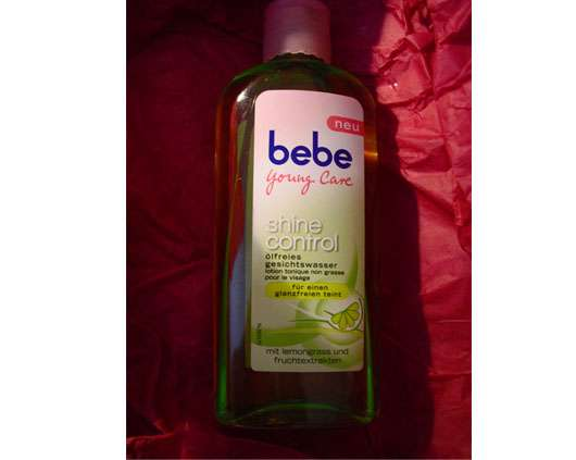 bebe young care shine control Gesichtswasser