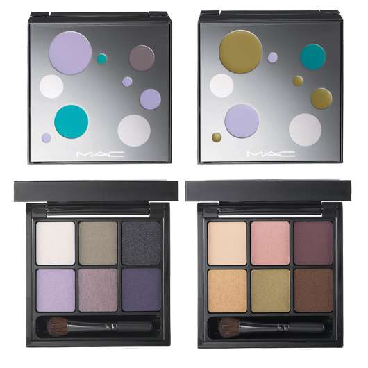 M·A·C Cosmetics 6 SORCERESS EYE SHADOWS & 6 DEVIL MAY DARE WARM EYE SHADOWS, Quelle: Estée Lauder Companies GmbH / M·A·C Division