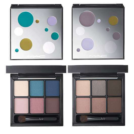 M·A·C Cosmetics 6 MYSTIC COOL EYE SHADOWS & 6 SMOKE AND MIRRORS EYE SHADOWS, Quelle: Estée Lauder Companies GmbH / M·A·C Division