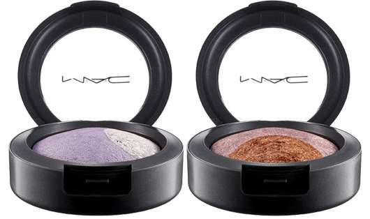 M·A·C Cosmetics MAGIC MIRTH AND MISCHIEF MINERALIZE EYE SHADOW (DUO) - DEVIL-MAY-CARE & UNDER YOUR SPELL, Quelle: Estée Lauder Companies GmbH / M·A·C Division