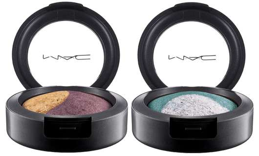 M·A·C Cosmetics MAGIC MIRTH AND MISCHIEF MINERALIZE EYE SHADOW (DUO) - IT'S A MIRACLE & BLUE SORCERY, Quelle: Estée Lauder Companies GmbH / M·A·C Division