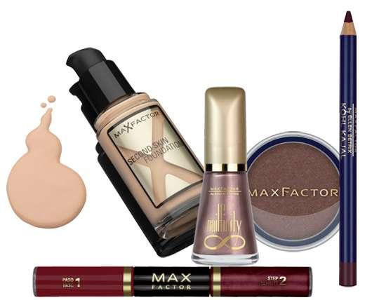 Gewinne 1 von 3 Max Factor Herbst/Winter Trendlooks 09/10