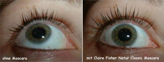 Claire Fisher Natur Classic Volume Mascara mit Kastanie
